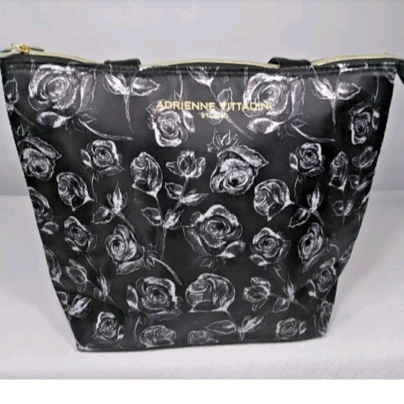 fb88436246 Adrienne Vittadini insulated lunch Bag Tote